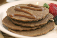 My Famous Raw Vegan Pancakes