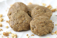 Raw Vegan Banana Nut Cookie Dough Bites