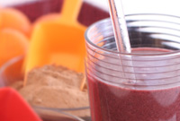 Blood Red Hemp Sunset Smoothie