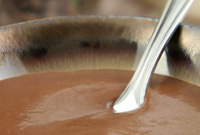 Raw Vegan Chocolate Cream Soup