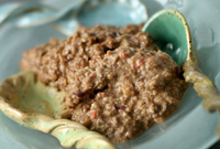 Raw Vegan Chocolate Powered Oatmeal
