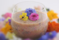 Raw Vegan Dazzling Daylight Flower Smoothie