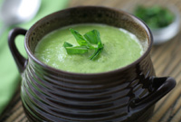 Raw Vegan Garlic Lemon-Lime Bisque