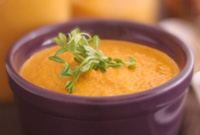 Raw Vegan Harvest Soup
