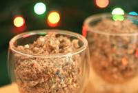 Raw Vegan Holiday Chia Pudding