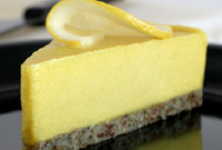 Raw Vegan Summer Fresh Lemon Cheesecake