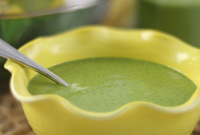 Raw Vegan Spinch Thyme Soup