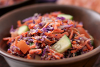 Raw Vegan Summer Picnic Slaw
